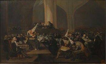 Auto da fe de la inquisición,1812-1819.