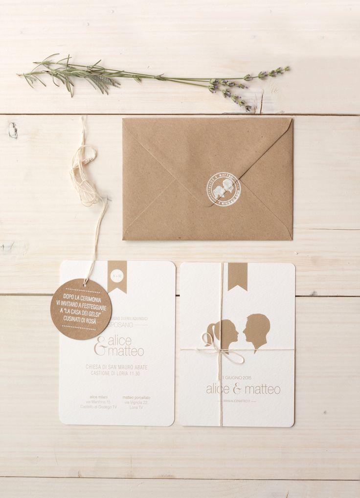 wedding invitations| Alice e Matteo 1 giugno 2015 www.alicemilani.com