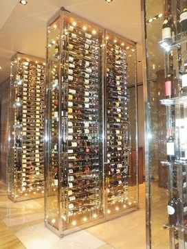 Wine lover and looking for decoraction idea? Luxury wine cellar idea