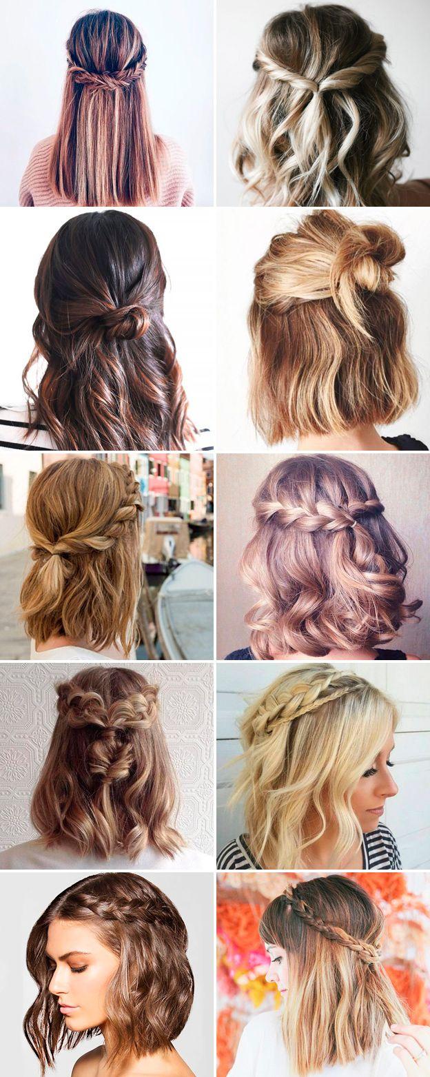 Причёски на 1 <u>уроки стрижки каре удлиненное каре</u> сентября на короткие волосы