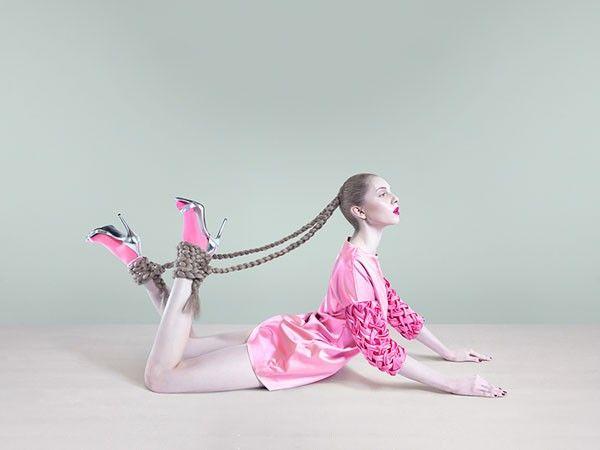Conceptual fashion shoot.