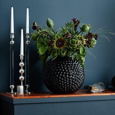 Vase Dagg - Glass, Black, Carina Seth Andersson | Svenskt Tenn