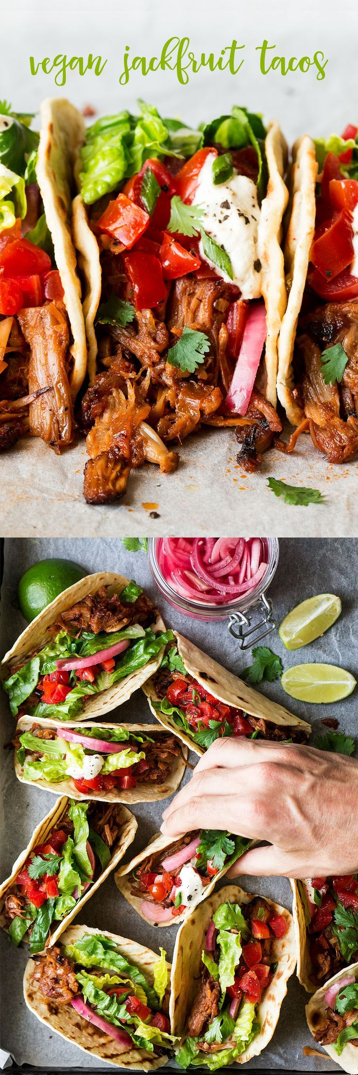 Jackfruit can take any meal to the next level—including these meaty, fresh tacos from Lazy Cat Kitchen.