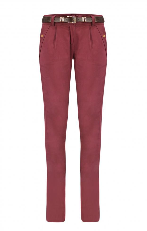 Γυναικείο παντελόνι από καμπαρτίνα PANT-4977-bu Παντελόνια -Γυναίκα