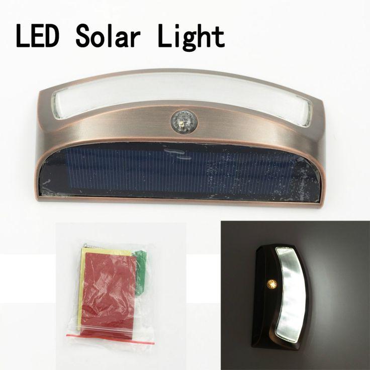 LED Solar light Panel Floodlight Solar Flood Light Outdoor Security Light Sensor LEDs Garden Path Wall Emergency LED solar light #Affiliate