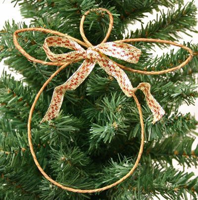 Easy Angel Crafts - Wire Angel - hanging on tree