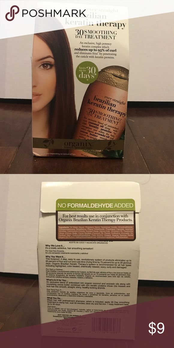 Brazilian Keratin Therapy At Home 30 Day Smoothing Treatment Other