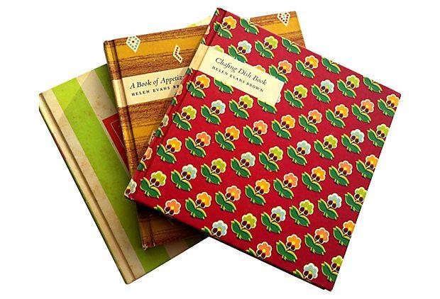 Midcentury Cookbooks, Boxed, S/3 on OneKingsLane.com