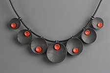 Polymer Clay Necklace by Klara Borbas