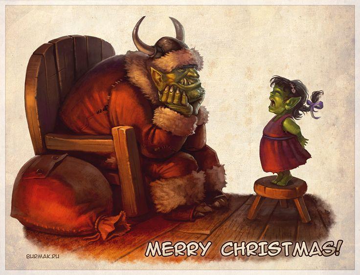 Merry Christmas by DevBurmak.deviantart.com on @DeviantArt