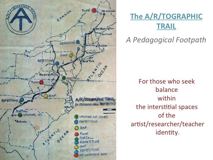 The A/r/tographic Trail Map