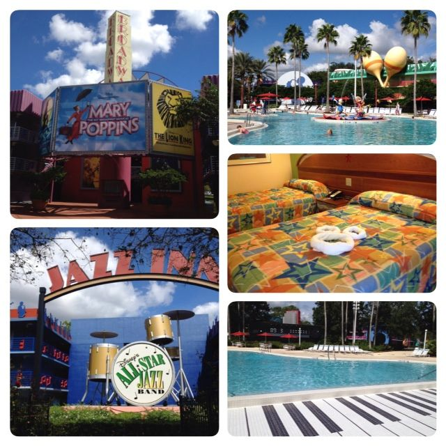 Some all-star choices when it comes to Walt Disney World's value resorts: All-Star Music Resort