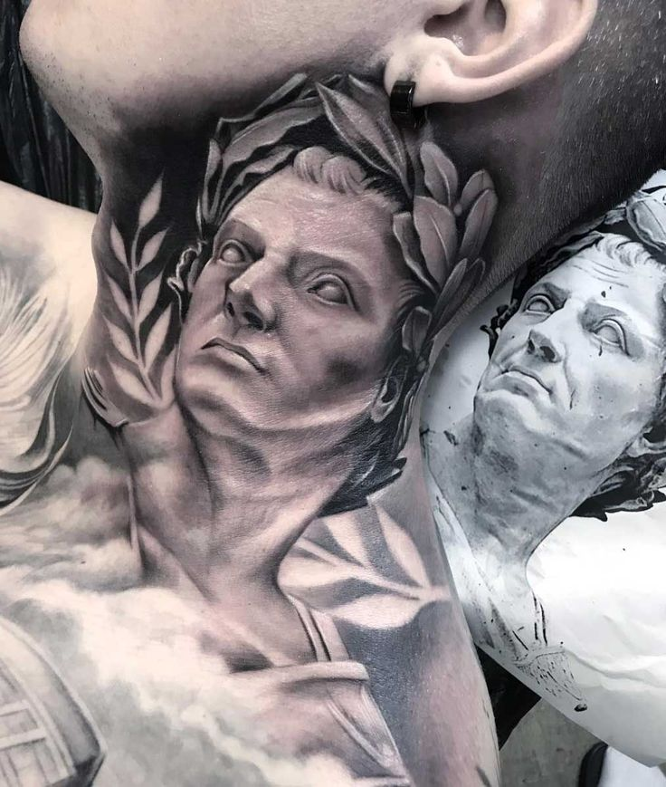 50 Incredibly Cool Neck Tattoos for Men and Women