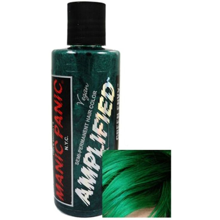 Manic Panic Amplified Hair Dye - Green Envy  #PersonalCare