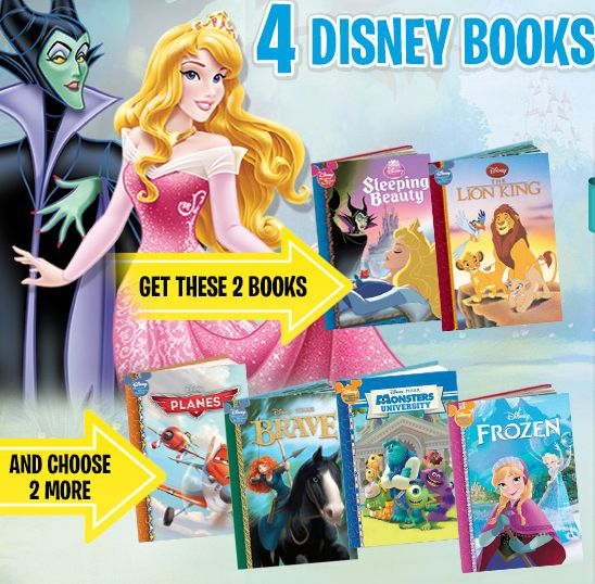 #Disney #Books Get 4 Disney Books for 99c each at  http://oztvreviews.com/