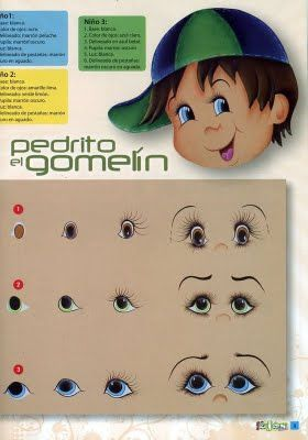 http://lipinturas.blogspot.com/2011/06/modelos-de-olhos-para-pintura.html