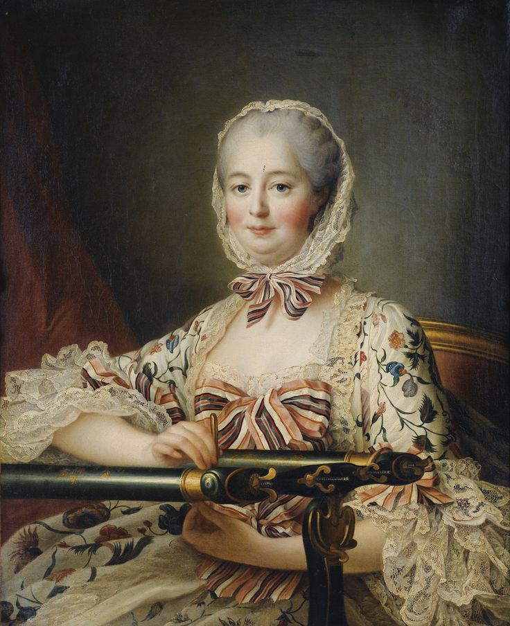 FRANÇOIS HUBERT DROUAIS PARIS 1727 - 1775 PORTRAIT DE MADAME DE POMPADOUR POMPADOUR ; OIL ON CANVAS