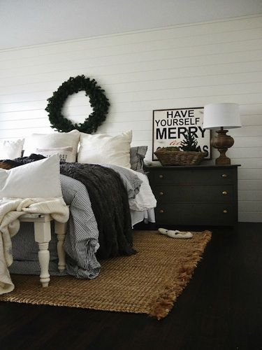 A Rustic North Carolina Rental Decked Out for Christmas - Liz Marie Blog Christmas House Tour - Country Living