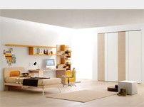 Пустыня 004 полных подростков спальный гарнитур письменный стол, шкаф и книжный шкаф