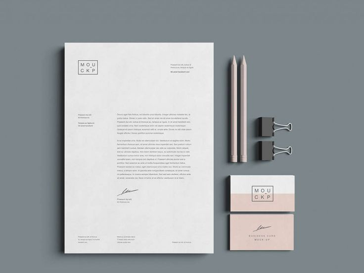 An advanced huge stationery mockup template for brand presentation including 15+ arrangements and perspective views to make beautiful composition! Dimensions: 1000 x 750 px.