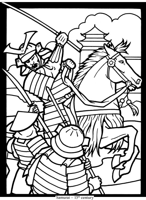 find this pin and more on karate samurai stained glass coloring book pages