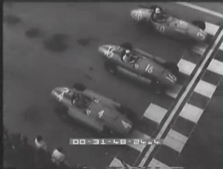 Ferrari D50 Partenza GP Siracusa 1956