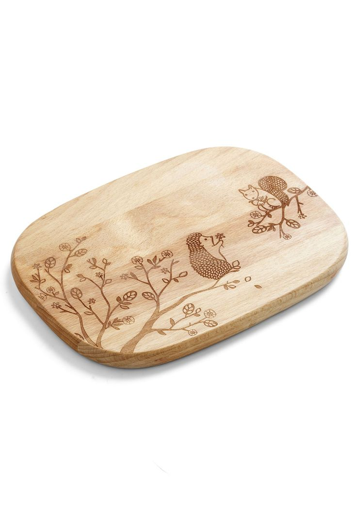 Creature Comfort Foods Cheese Board in Critters | Mod Retro Vintage Kitchen | ModCloth.com