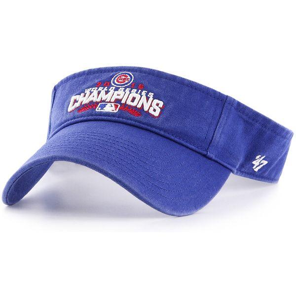 Chicago Cubs 2016 World Series Champions Visor  #ChicagoCubs #Cubs #FlyTheW #MLB #ThatsCub