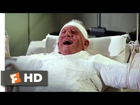 It's a Mad, Mad, Mad, Mad World (1963) - Laughing in the Hospital Scene (10/10) | Movieclips - YouTube