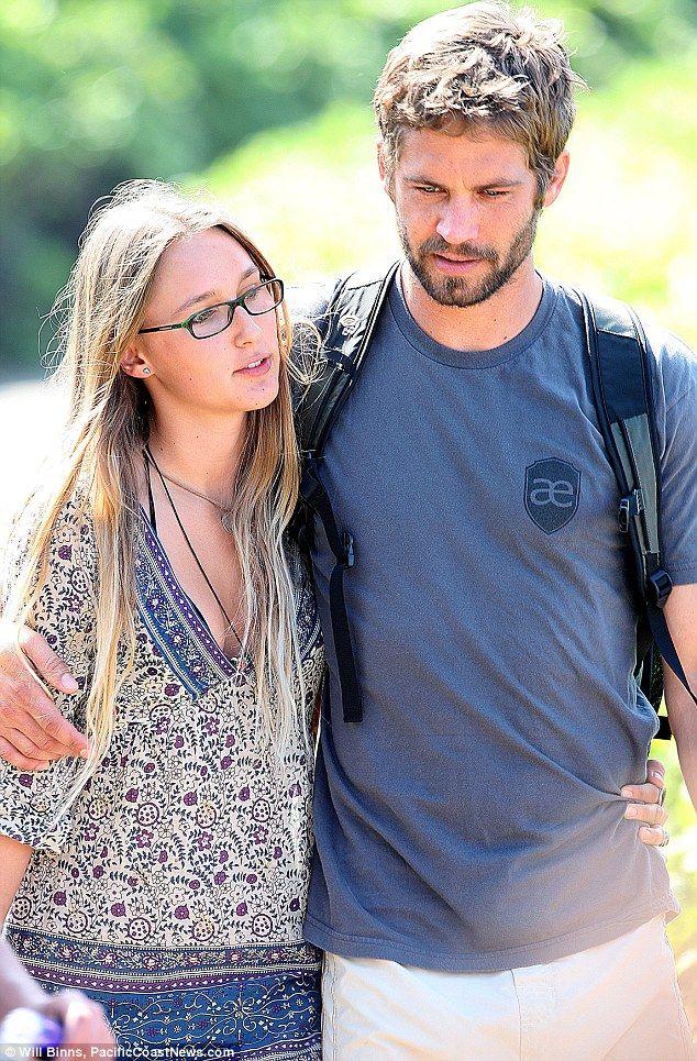 Paul Walkers devastated 23-year-old girlfriend in grief