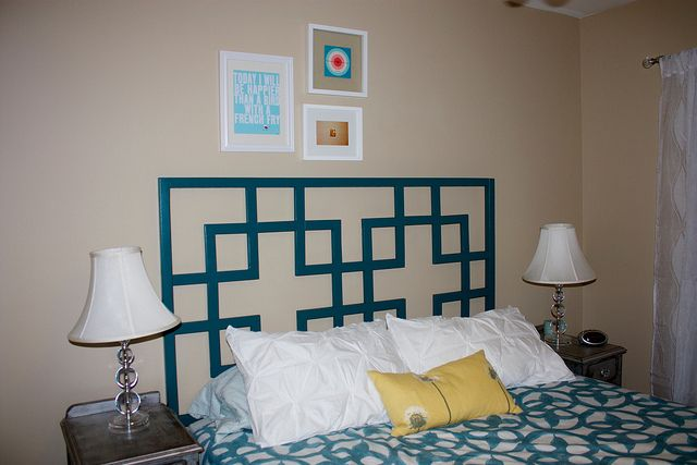 Squared2 headboard do it yourself home projects from ana for Do it yourself home projects