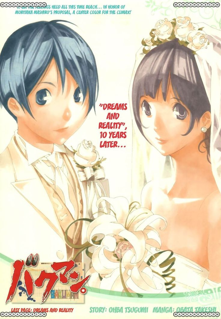 So even though the last chapter of Bakuman seemed rushed
