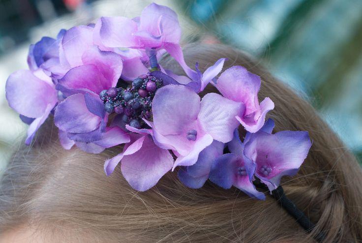 DIY Dirndl Blumen Haarschmuck - yellowgirl der DIY und lifestyle Blog