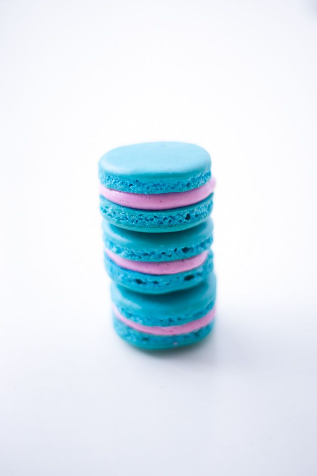pretty stack of vibrant macarons and tips on how to make them - coco cake land