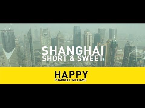 Happy Shanghai - Pharrell Williams - Happy (We are from SHANGHAI, China) #TRIOO - YouTube