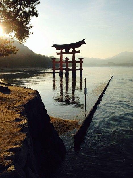 Itsukushima shrine, Japan 厳島神社