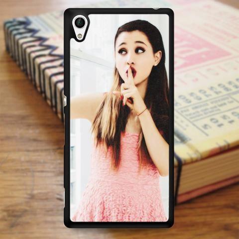 Ariana Grande Selfie Pink Lips Sony Experia Z4 Case