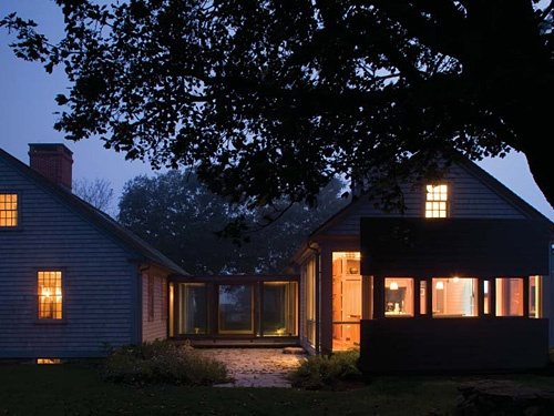 2011 AIA Housing Awards: One- and Two-Family Custom Residences- Addition to an Historic Cape on a Coastal Farm in Little Compton, Rhode Island; designed by Bohlin Cywinski Jackson