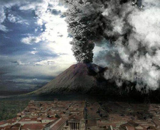 volcano history | pompeii volcano eruption history