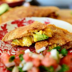 Chicken Quesadillas are absolutely a go-to recipe in our household, but while I've made them on my show (and have posted different variations of quesadillas here through the years), I just re…