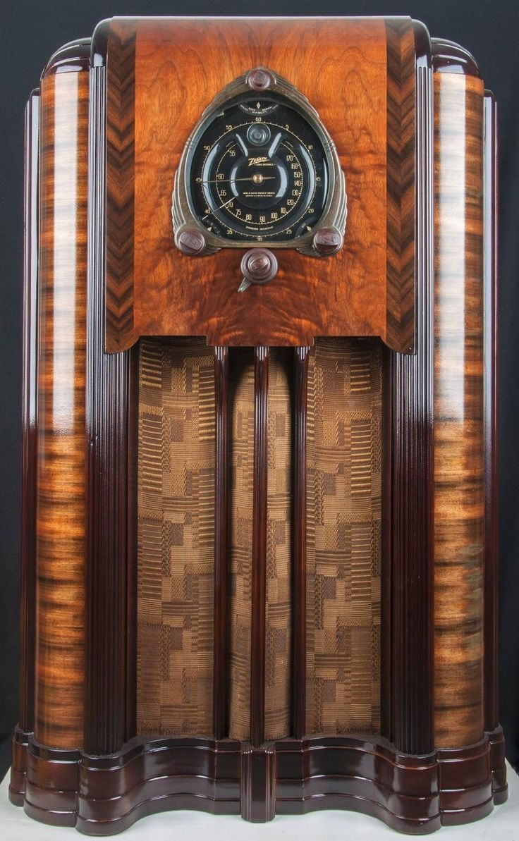 1938 Zenith 12s-267 Wood Console Vacuum Tube Radio- Fully RESTORED!! | eBay
