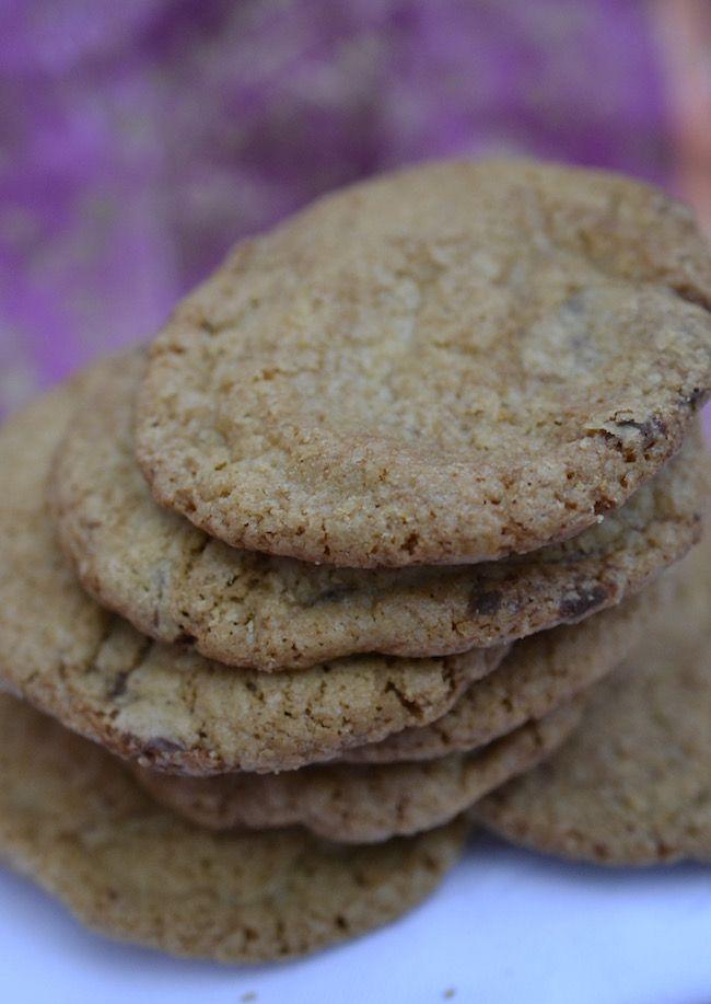 gluten free crunchy choc chip biscuits  #glutenfree #gfrecipes