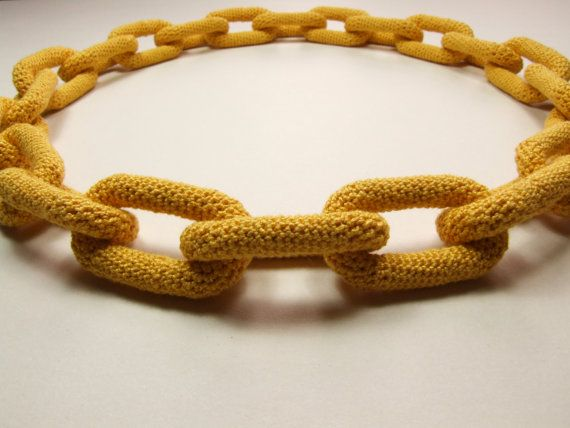 Cadeia Crochet Pattern Jóias - Colar Amigurumi - novo e melhorado