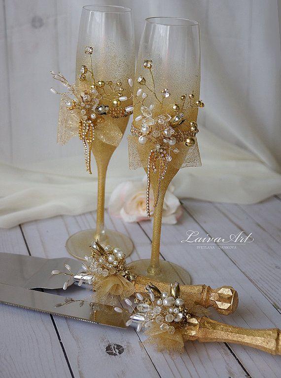 765 best copas decoradas images on pinterest painting on for Copas de champagne