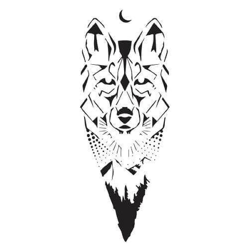 Canis Lupus Tattoo - Semi-Permanent Tattoos by inkbox™ - Inkbox™ Lupus Tattoo, Inkbox Tattoo, Wolf Tattoos, Animal Tattoos, Fish Tattoos, Coyote Tattoo, Wilderness Tattoo, Semi Permanent Tattoo, Tattoo Stencils