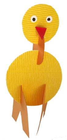 10 best images about p que on pinterest papier mache easter bunny ears and easter holidays - Panier de paques a fabriquer ...
