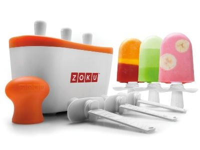 Zoku Ice Pop Maker - This thing makes ice pops in 7 minutes! $49.99 #icepops