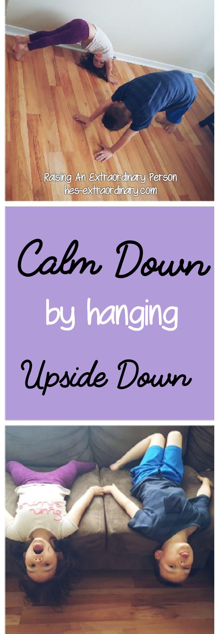 Hanging Upside Down to Prevent Sensory Meltdowns: Vestibular Input