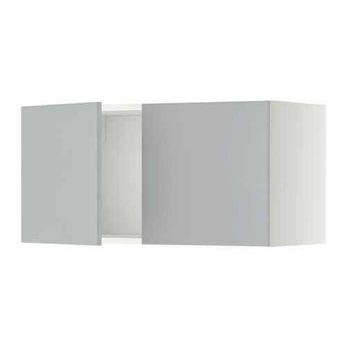 Metod armari de paret amb 2 portes blanc veddinge blanc for Ikea porte 60 x 70