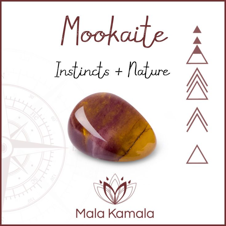 Pin To Save, Tap to follow us on instagram - be the first to know about exclusive offers, sales and deals. What is the meaning and crystal / chakra healing properties of mookaite? A stone for instincts and nature. Mala Kamala Mala Beads - Malas, Mala Beads, Mala Bracelets, Tiny Intentions, Baby Necklaces, Yoga and Meditation Jewelry, Baltic Amber Necklaces, Gemstone Jewelry, Chakra and Crystal Healing Jewelry, Mala Necklaces, Sacred Jewelry, Bohemian Boho Jewelry, Childrens Babies Jewelry